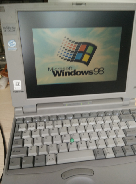 Booting Windows 98 once again